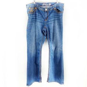 SEVEN7 Luxe Women's Plus Size Boot Cut Jeans